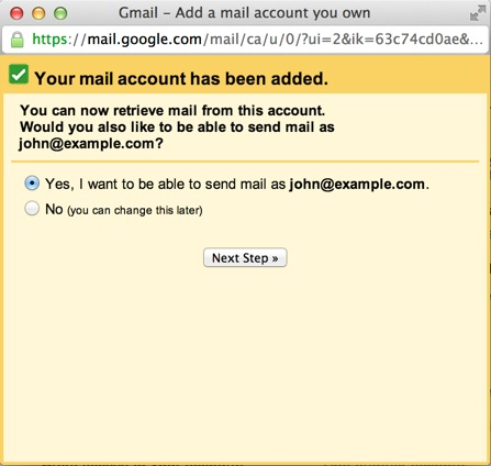 FastDomain - How To Setup An Email Account In Gmail